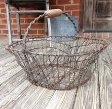 french country shabby chic wire basket wire basket shabby and