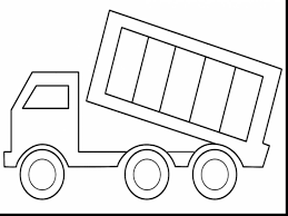 magnificent dump truck coloring pages printable with trucks
