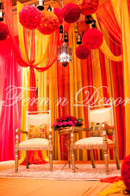 indian wedding decorators in ny wedding stage decoration in ny new york ny indian wedding by