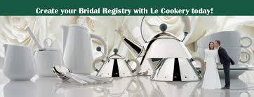 bridal reg create a list le cookery usa