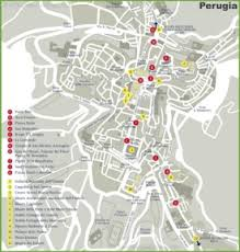 map of perugia perugia maps italy maps of perugia