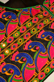 buy multicolor kutch embroidered traditional designer blouse online