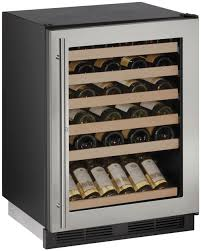 How To Make A Wine Rack In A Kitchen Cabinet by Undercounter Wine Coolers