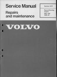 volvo 240 engines d20 d24 reconditioning piston cylinder engine