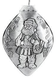 santa of the world italy ornament wendell august