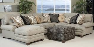 fabric sectional sofas with chaise fabric sectional sofas with recliners and chaise plus ottoman table