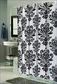 Black White And Red Bathroom Decorating Ideas Colors Bathroom White Bathroom With Color Accents Black Tiles Design
