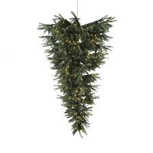 christmas tree upside down h180cm hang from ceiling