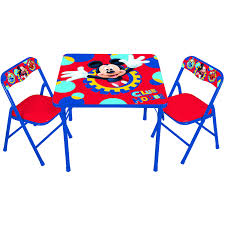 Wal Mart Patio Furniture by Disney Mickey Mouse Playground Pals Activity Table Set Walmart Com