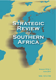 Southern Africa Map Strategic Review For Southern Africa