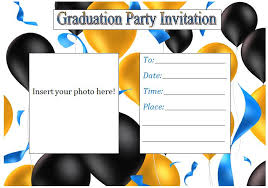 graduation invitations free template best template collection