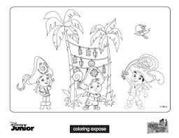 bucky jake neverland pirates coloring pages coloring