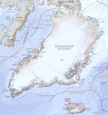 Physical Map Of Canada by Physical Map Of Greenland