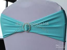 turquoise chair sashes turquoise spandex chair band with buckle spandex sash lycra chair