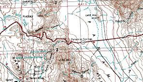 Death Valley Map Death Valley