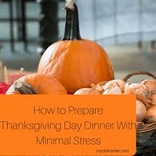 tips on how you can start preparing for thanksgiving and free