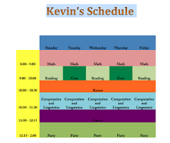 How To Do Challenge Mrteacherkevin Excel Challenge 1 Make A Schedule