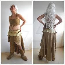 khaleesi costume khaleesi daenerys targaryen by malteselizziemcgee on deviantart