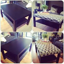 Diy Ottoman Coffee Table Diy Ottoman Coffee Table Ikea Best Gallery Of Tables Furniture