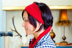 how to wear bandanas with bob hairstyles 3 cute bandana hairstyles for short hair