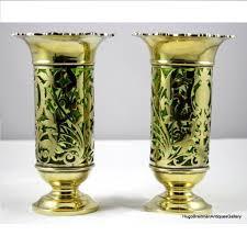 Silver Vases Of English Vermeil Silver Vases Jd U0026s