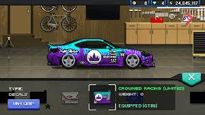 pixel car png crowned fan art