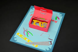 how to make a father u0027s day toolbox pop up card creative pop up cards