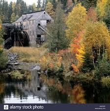old sawmill in kings landing historical settlement kingsclear
