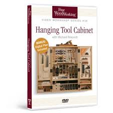 Dvd Cabinet Woodworking Plans by Fww Hanging Tool Cabinet The Woodworker U0027s Library Woodworking