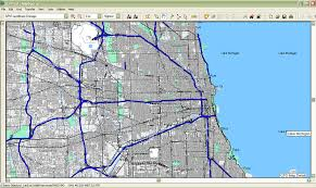 chicago map streets chicago gps map gpstravelmaps