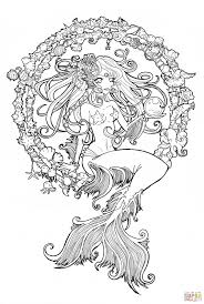 cordelia jewel of the sea coloring page free printable coloring