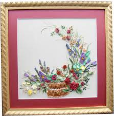 lacy embroidery kit