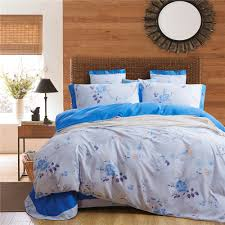 vikingwaterford com contemporary leta collection 7piece white cheap full comforter sets with light blue flower pattern with queen wicker redcliffe headboard