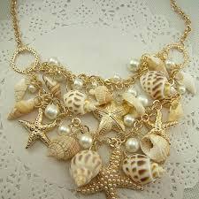 big fashion pearl necklace images Fashion fine jewelry 18k gold big bib statement chokers pendant jpg