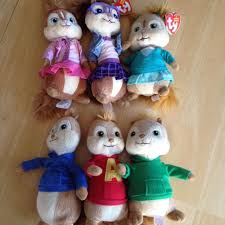 find more ty beanie babies alvin and the chipmunks and britney and