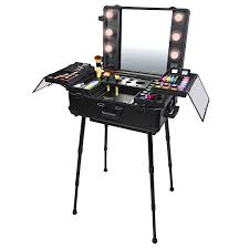 professional makeup stand shany studio to go makeup with light pro