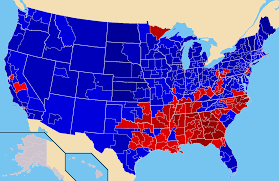 National Election Results Map by Election Results By Congressional Districts Official Thread
