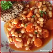 comment cuisiner des haricots blancs mijoté de haricots blancs aux tomates et carottes recette iterroir