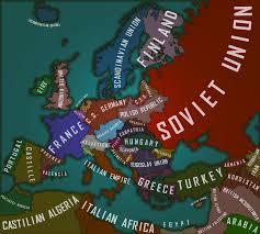 Europe Map Ww1 Post Ww1 Map Image Europe After Ww1 Gif Alternative History Fandom