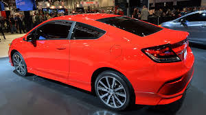 honda flaunts freshened 2014 civic coupe at sema autoblog