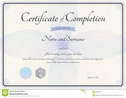 certificate of completion template sogol co