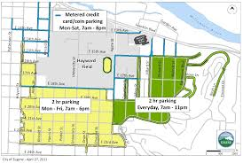 map of oregon 2 arena and cus parking eugene or website
