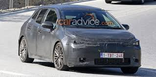 modified toyota corolla 2018 toyota corolla hatch spied photos 1 of 4