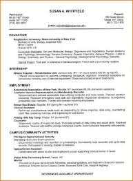 Winning Resume Samples by Best Resumes Examples Ideas