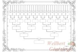 printable family tree chart 6 generations empty to fill in oneself