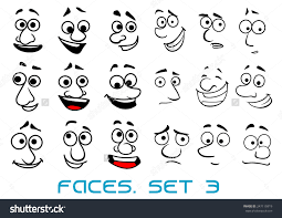 funny faces cartoons for sketches set of funny sketch animal face