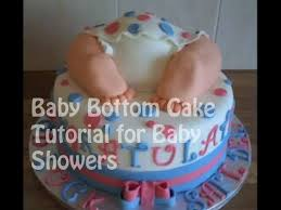 baby bottom cake how to make a baby bottom cake tutorial for baby showers