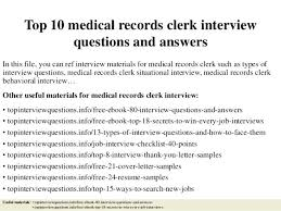 glamorous medical records clerk resume 1 medical records clerk