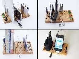 Modular Desk Organizer B A Studio S Modo Inhabitat Green Design Innovation