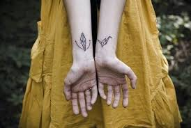 100 paper crane tattoo olio color tattoo by adrian from